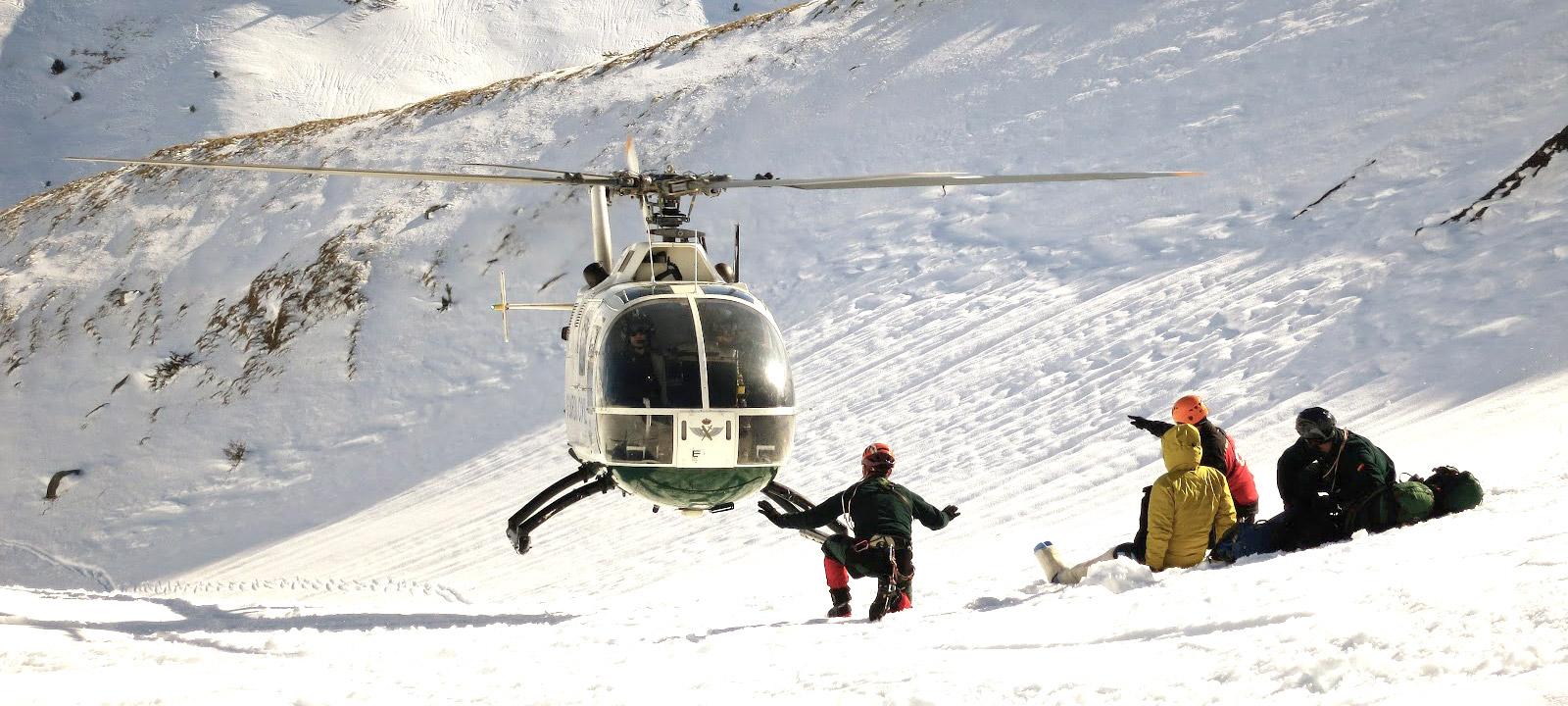 master rescate montaña