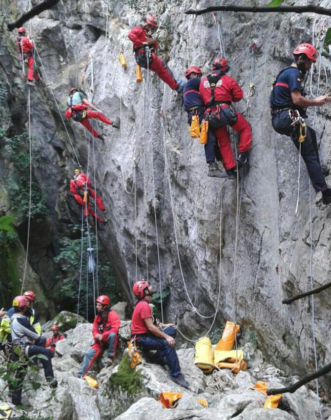 rescate montaña master